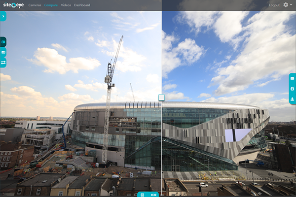 Portal - Compare images and progress