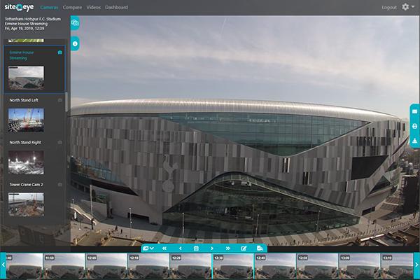 Portal - View site progress